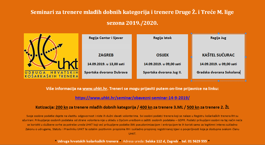 Seminar za trenere mdk - 2.žl - 3.ml
